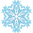 Art Nouveau,Snowflake,Snow,Winter,White,Swirl,Design Element,Holiday,Cold - Termperature,Blue,Isolated Objects,Winter,Nature,jugendstill,Curled Up,Part Of,Illustrations And Vector Art