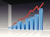 Graph,Chart,Bar Graph,Business,Finance,Stock Market,Three-dimensional Shape,Marketing,Growth,Investment,Making Money,Diagram,Backgrounds,Computer Graphic,Report,Blue,Vector,Success,Moving Up,Data,Striped,Concepts,Improvement,Horizontal,Design,Arrow Symbol,Translucent,Inspiration,Ideas,Modern,Savings,Reflection,New Business,Sparse,Digitally Generated Image,Wealth,Multi Colored,No People,Part Of,Shiny,Clean,Business Concepts,Business,Empty,Illustrations And Vector Art