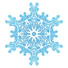 Art Nouveau,Snowflake,Winter,Snow,Swirl,White,Design Element,jugendstill,Cold - Termperature,Curled Up,Blue,Holiday,Winter,Isolated Objects,Nature,Illustrations And Vector Art,Part Of
