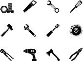 Vector,Screwdriver,Symbol,Computer Icon,City Of Tool,Adjustable Wrench,Cutter - Work Tool,Set,Work Tool,Interface Icons,Technician,Equipment,Tongs,Hatchet,Working,Machinery,Menu,internet icons,Sign,Spanner,Circular Saw,Hand Saw,Wrench,Hammer,Axe,Mill,Chainsaw,Nut,Silhouette,Series,Repairing,Internet,Bolt,Web Page,Pliers