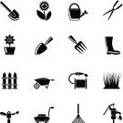 Symbol,Computer Icon,Irrigation Equipment,Flower Pot,Outdoors,Gardening,Formal Garden,Work Tool,Fence,Flower Bed,Springtime,Design Element,Interface Icons,Flower,Grass-cutter,internet icons,Business,Garden Hose,Grass,Dirt,Bucket,Plant,Menu Design,Trowel,Single Flower,Watering,Group of Objects,Equipment,Silhouette,Lawn Mower,Enclosure,Nature,Can,Ground,Industry,Service,Rake,Environment,Vector,Wheelbarrow,Set,Water,Gardening Equipment,Botany