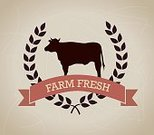 Cow,Set,Collection,Variation,Ilustration,Nature,Icon Set,Ribbon,Vector,Farm,Agriculture,Organic,Animal,Symbol