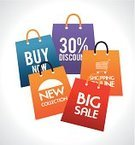 Stock Market,Consumerism,Concepts,Market,Marketing,Wealth,Finance,Store,Vector,Bag,Shopping Bag,Sale,Buying,Business,Buy,Shopping
