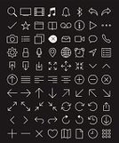 Computer Icon,Internet,Symbol,Arrow Symbol,Thin,Camera - Photographic Equipment,Web Page,Flat,In A Row,Outline,Mail,Packing,Lock,Conceptual Symbol,Vector,Clock,Stroke,Computer,Simplicity,White,Note Pad,Sparse,upload,Clean,Intelligence,Communication,Computer Programmer,Collection,Setting,Lightweight,Single Object,Design,glob,Set,user,Computer Software,Application Software,Interface Icons,Mobility,Isolated,Music,Control,Ilustration,File,Telephone,ultra,Retina