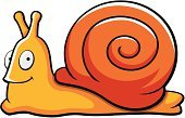 Slimy,Smiling,Snail,Vector,Animal Shell,Happiness,Cartoon,Clip Art,Escargot,Cheerful,Insect
