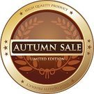 Autumn,Season,Sale,Advertisement,Insignia,Circle,Autumn Collection,Half Price,High Up,Seal - Stamp,Gold,Retail,Text,Wreath,Placard,Computer Icon,Banner,Giving,Special,Label,Limited Edition,Quality Control,Gold Colored,Curve,Badge,Selling,Buying,Message,Merchandise,Business,Buy,Symbol