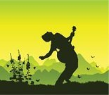 Music,Silhouette,Guitar,Performance,Guitarist,Vitality,Singer,Summer,Environment,Men,Teenager,Playing,Mountain,Musician,Writing,Singing,Pop Musician,Adolescence,Happiness,Ilustration,Flower,Energy,Bending Over Backwards,Freedom,Backgrounds,Landscape,Green Color,Skill,Vector,Outdoors,Grass,Clothing,Play,One Person,Rock and Roll,Hairstyle,Mountain Range,Success,Style,Sky,Descriptive Position,Scenics,Fashion,Beautiful,Cool,On Top Of The World,Perfection,Outline,Soloist,Arts And Entertainment,Music,Viewpoint,Sound