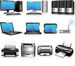 Computer Printer,Computer Network,Computer Icon,Symbol,Communication,Using Computer,Laptop,Computer Keyboard,PC,Three Dimensional,Desktop PC,Network Server,Computer Monitor,Computer,Vector,Visual Screen,Equipment,Wireless Technology,Router,Computer Equipment,Business,inkjet,Ink,Electronics Industry,Wide Screen,Technology,Office Interior,Presentation,Liquid-Crystal Display