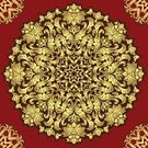 Red,Abstract,Circle,Retro Revival,Decoration,Luxury,Romance,Symmetry,Fashion,Old-fashioned,Gold Colored,Style,Design,Seamless,Swirl,Textured,Backgrounds,Art,Elegance,Pattern,Curve,Floral Pattern
