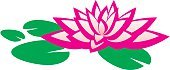 Lotus Water Lily,Pond,Lily,Flower,Single Flower,Water,Computer Graphic,Nature,Pink Color,Simplicity,Petal,Float,Flower Head,Plant,Health Symbols/Metaphors,Nature,Beauty And Health,Plants