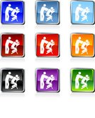 Animal Neck,Human Neck,Icon Set,Back,Health Spa,Spa Treatment,Emotional Stress,Chair Massage,Blue,Black Color,Vacations,Green Color,Square,Relaxation,Physical Pressure,Red,Purple,Orange Color,Gray