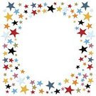 Circus,Celebration,Backgrounds,Frame,Star Shape,Confetti