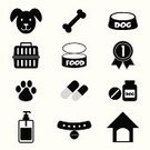 Clinic,Dog,Ilustration,Human Face,Walking,Carrying,Animal,Food,Vector,Pets,Paw,Symbol,Veterinary Medicine