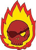 Cheerful,Drawing - Activity,Doodle,Bizarre,Clip Art,Ilustration,Cute,Burning,Fire - Natural Phenomenon,Pirate,Sign,Tattoo