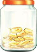 Jar,Currency,Coin,Finance,No People,Single Object,unlabeled,Ilustration,Computer Graphic,Store,Space,Recycling,Volute,Wealth,Sign,Backgrounds,Household Equipment,Kitchenware Department,Glass,Web Page,Bank Deposit Slip,Vector,Business,Cap