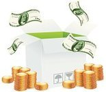 Ilustration,Single Object,Packaging,Bundle,Coin,Vector,Bringing Home The Bacon,batch,Isolated,Symbol,Bill,Open,Paper Currency,Currency,Finance,Gold,Sign,Box - Container,Set,Paper,Wealth,Packing,Home Finances,Computer Icon,Dollar Sign,Currency Symbol,Dollar