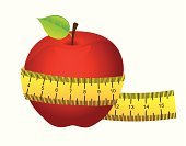 Computer Icon,Symbol,Design,Multi Colored,Dieting,Ilustration,Fruit,Healthy Eating,Healthy Lifestyle,Vector,Apple - Fruit