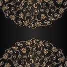 Gold Colored,Pattern,Old-fashioned,filigree,Decoration,Curled Up,Elegance,Part Of,Victorian Style,Vignette,Old,Grunge,Spiral,attrition,Single Flower,Leaf,Floral Pattern,Design Element,Renaissance,Classic,Baroque Style,Backgrounds,Curve,Ilustration,Swirl,Ornate,Art,Abstract,Dirty,Style,Black Color,Scratched,Design,Vector,Shape