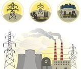 Power Station,Symbol,High Voltage Sign,Tower,Computer Icon,Turbine,Nuclear Reactor,Cable,Fuel and Power Generation,Construction Industry,Powerhouse,Power Line,Vector,Building Exterior,Radioactive Warning Symbol,Chimney,Nuclear Power Station,Ilustration,Electricity Pylon,Geothermal Power Station,Generator,Pollution