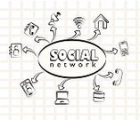 Social Networking,Occupation,Digitally Generated Image,Connection,Team,Vector,Community,Design,Ilustration,People,Ideas,Global Communications,Icon Set,Clip Art,Internet,Technology,Discussion,Teamwork,Communication