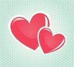 Symbol,Togetherness,Touching,Emotion,Ideas,Romance,Heart Shape,Vector,Ilustration,Happiness,Love