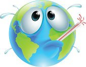 Global Warming,Nature,Danger,Weather,Planet - Space,Drawing - Art Product,Rescue,Disaster,SOS,Recycling,Thermometer,Symbol,Characters,Melting,Environment,Climate,Vomit,Illness,One Person,Vector,Humor,Animated Cartoon,Three Dimensional,Map,Globe - Man Made Object,Ilustration,Concepts,Earth Day,Mascot,Heat - Temperature,Warming Up,Anthropomorphic Face,Human Face,Temperature,Pollution,Change,People,Earth,Three-dimensional Shape,Fun,Sweat,Fever,Cartoon