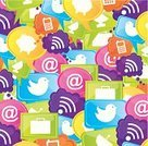 Social Networking,Icon Set,Occupation,Ideas,Sign,Single Object,Design,Speech,Clip Art,Order,Digitally Generated Image,Mobile Phone,Set,Community,Connection,Cyberspace,Internet,Communication,Global Communications,Technology,Vector,People,Team,Marketing,Business,Ilustration