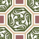 Octagon,Abstract,Tiled Floor,Pattern,Square Shape,Decoration,Flower,Backgrounds,Vector,Style,Illustrations And Vector Art,Arts Backgrounds,Design,Arts And Entertainment,Arts Abstract,Ilustration,Ornate,Art,Branch