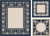 Construction Frame,Picture Frame,Frame,Certificate,Image,Record,Ornate,Paintings,Book,Baroque Style,Set,Greeting Card,Vector,Floral Pattern,Design Element,Elegance,Invitation,Plan,Backgrounds,Decoration,Beautiful,Old-fashioned,No People,Postcard,Luxury,Classic,Book Cover,Design,Pattern,Retro Revival,Textured Effect,Blue,Antique,Flower,Greeting,Nostalgia,Label,Painted Image