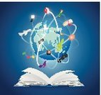Earth,Technology,Science,Teaching,Backgrounds,Ideas,Commercial Sign,Abstract,Paper,Bookmark,Sphere,Innovation,Library,Design,Colors,Creativity,Business,Expertise,Data,Air Vehicle,Marketing,Reading,Learning,Concepts,Book,The Way Forward,Studying,Vector,Ilustration,Education,Literature