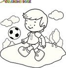 Coloring,Child,Soccer,Ilustration,Team Sport,Cartoon,Sport,Soccer Player,Preschooler,Black And White,Line Art,Outline,Sports Activity,Painting,Goal,Elementary Age,Clip Art,Little Boys,Kicking,Paint,Playing,Coloring Book,Playground,Drawing - Activity,Football,Soccer Uniform,Sports Uniform,Running,White,Black Color,Ball,Athlete,Book,Vector,Playful,Exercising,Cute,Soccer Ball,Page,Laughing,Drawing - Art Product,Schoolyard,Pencil Drawing,Playing Field