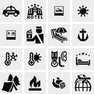 Postcard,Passport,Single Object,Men,Sailing,Snow,Weather,Vector,Symbol,Luggage,Ilustration,Airport,Air,Hotel,Ticket,Backpack,Large,Heat - Temperature,Hiking,Camera - Photographic Equipment,Walking
