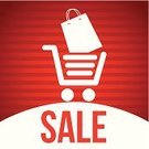 Retail,Price,Buy,Savings,Business,Market,Store,Flyer,Season,Marketing,Label,Icon Set,Sale,Large,Announcement Message,Design Element,Shopping Cart,Set,Collection,Vector,Ilustration,Red