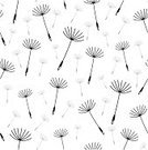 Dandelion,Seed,Seamless,Pattern,Backgrounds,Flower,Vector,Black Color,Nature,Plant,Repetition,Fluffy,Ilustration,Wallpaper Pattern,Spreading,imagery,Art,Design,No People,Arts Backgrounds,Travel Backgrounds,Travel Locations,White Background,Arts And Entertainment