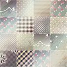 Patchwork,Curve,Wallpaper Pattern,Square,Old,1940-1980 Retro-Styled Imagery,Grunge,Sewing,Green Color,shabby chic,Continuity,Vector,Backgrounds,Pattern,Lace - Textile,Rose - Flower,Backdrop,Repetition,Textured Effect,Seam,Seam,Seamless,Stitch