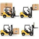Forklift,Computer Icon,Symbol,Icon Set,Freight Transportation,Messenger,Shipping,Vector,Picking Up,Storage Room,Transportation,Traffic,Business,Packing,Global Business,Machinery,Packet,Sending,Yellow,Cardboard,Bar Code,Cargo Container,Send,Box - Container,Carton,Car,Pitchfork,Food Staple,Globe - Man Made Object,Delivering,Truck,Mail,Packaging,Package,Loading,Toy Wagon