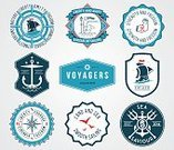 Sea,Label,Mermaid,Sign,Sailing,Badge,Book,Insignia,Driving,Nautical Vessel,Ornate,Design Element,Blue,Exploration,TAB Cola,amity,Voyager,Merchandise,Cultures,Wheel,Symbol,insigna,Computer Graphic,Ilustration,Geometric Shape