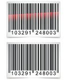 Bar Code,Isolated,Bar Code Reader,Technology,White,Design,Backgrounds,Reading,Data,Coding,Vector,Red,Label,Business