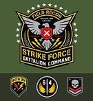 Armed Forces,Military,Eagle - Bird,Patch,Computer Graphic,Air Force,Shield,Army,Human Skull,Tee,Coat Of Arms,Marines,Lightning,Symbol,Star Shape,Set,Navy,Poster,Design,Insignia,Special Forces,Bull's-Eye,Shirt,Vector,Clothing,Knife,Team,Art,Strategy,Label,Weapon,Dagger,Wing,Black Color,Uniform,Design Element,Green Color,Sword,Crosshair