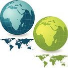 Globe - Man Made Object,Africa,Planet - Space,Earth,Map,Green Color,World Map,Europe,Cartography,Canada,Asia,continents,North America,countries,Pacific Ocean,Australia,Isolated On White,USA,Vector,Sea,Land,Physical Geography,Travel Locations,Water,Clip Art,Illustrations And Vector Art,Ilustration,South America,Blue,The Americas,Atlantic Ocean,Computer Graphic