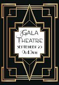 Art Deco,Frame,Picture Frame,Gold Colored,Gold,gatsby,Invitation,Metal,Event,Brass,Vertical,Party - Social Event,Color Image,invitiation,Retro Revival,Deco,1940-1980 Retro-Styled Imagery,Striped,Vector,Poster,Black Color,Old-fashioned,Abstract,Metallic