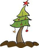 Holiday,Christmas,Drawing - Activity,Cartoon,Traditional Festival,Ilustration,Tree,Nature,Vector,Abstract