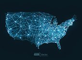 USA,Cartography,Infographic,Communication,Connection,Computer Network,Technology,Sphere,Abstract,Internet,Digitally Generated Image,Circle,Night,Business,In A Row,Design Element,Backgrounds,Vector,Modern,Futuristic,Blue,Built Structure,Ornate,Computer Graphic,Shiny,Ilustration,Fractal,Design,Geometric Shape,Light - Natural Phenomenon,Bright,Wire Mesh,Unity,Ideas,Creativity,Shape,Concepts,Vibrant Color