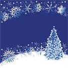 Christmas Tree,Holiday,Backgrounds,Snow,Star - Space,Night,Ice,Snowflake,Square Shape,Tree,Blue,Winter,Star Shape,Ilustration,White,Curled Up,Art,Arts And Entertainment,Bright,Square,Holidays And Celebrations,Christmas,Computer Graphic,2008,Illustrations And Vector Art,Vector,Arts Backgrounds,Abstract,Pine Tree,yuletide,Scroll Shape