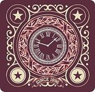 Sign,template,Computer Graphic,Vector,Decoration,Ilustration,Circle,Clock,Label,Calligraphy,Collection