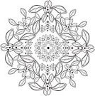 filigree,Circle,Frame,Decoration,Backgrounds,Pen And Ink,Outline,Vector,Ilustration,seamless pattern,Seamless Design,Floral Pattern,Design,Pattern,Mandala,Tattoo,seamless texture,Computer Graphic,rangoli,Single Flower,Sewing Pattern,Elegance,Geometric Shape,Swirl,Design Element