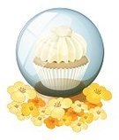 Cake,Food,Cup,Cupcake,Decoration,Baking,Assistance,Flower Head,Vector,nectars,Blue,Dessert,Ornate,Decor,Icing,Computer Graphic,Mocha,Petal,Yellow,Image,Backgrounds,Circle,Sphere,template,Clip Art,vectorized,Freshness