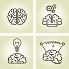 Human Brain,Symbol,Computer Icon,Light Bulb,Inspiration,Ideas,Intellectual Property,Outline,Lightning,Electricity,Education,Thinking,Side View,Directly Above,Incentive,Filament,Simplicity,Gear,Wisdom,gearwheel,Imagination,Creativity,Invention,Innovation,Lighting Equipment,Motivation,Electric Lamp