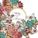Hummingbird,Butterfly - Insect,Old-fashioned,Summer,Springtime,Retro Revival,Curve,Drawing - Activity,Pattern,Text Messaging,Bird,Part Of,Backgrounds,Business,Swirl,Antique,Fashion,Backdrop,Style,Elegance,Design,Flower,Wallpaper,Ornate,Ilustration,Drawing - Art Product,Animal Hand,Decoration,Flourish,Space,Textured,Greeting Card,Decor,Art,Brochure,Computer Graphic,Rainbow,Old,Paper,Creativity,Banner,Multi Colored