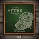 Grunge,Season,Drawing - Activity,Doodle,Backgrounds,Design Element,Retro Revival,Textured Effect,Sign,Exoticism,Old-fashioned,Wallpaper,Symbol,Sand,Stone,Beach,Label,Abstract,Ink,Sea,Business,Holiday,Wood - Material,Sketch,Picture Frame,Green Color,Ilustration,Vector,Chalk Drawing,Blackboard,Design,Vacations,Placard,Animal Shell,Summer,Pattern,Backdrop,Nature,Painted Image,Travel